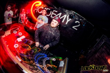 Rou Reynolds from Enter Shikari DJing at Lockdown in Dublin