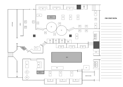 TGI Fridays Staff Floor Plan