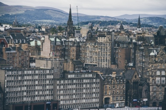 One of the many views from Calton Hill